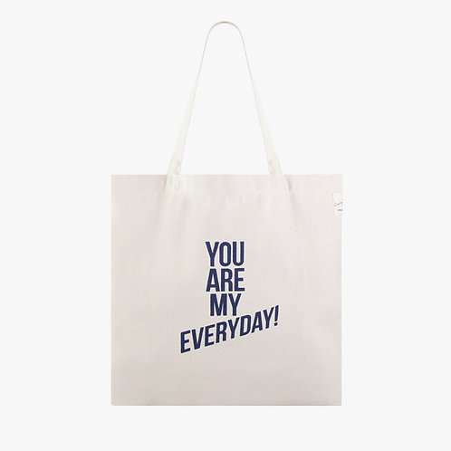 Dna Tote Bag - M - You are my everyday