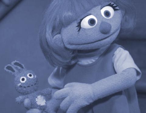 JULIA HAS AUTISM Meet Julia: The Newest 'Sesame Street' Puppet