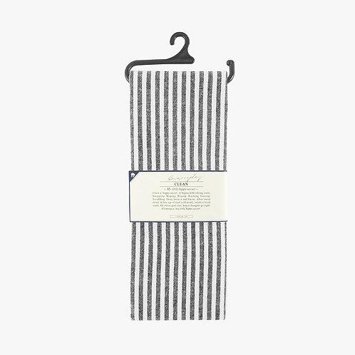 Tea Towel - Black Stripe