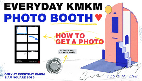🌈 Everyday kmkm Photo Booth 💙 : HOW TO GET A PHOTO 📸
