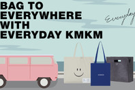 BAG TO EVERYWHERE WITH EVERYDAY KMKM
