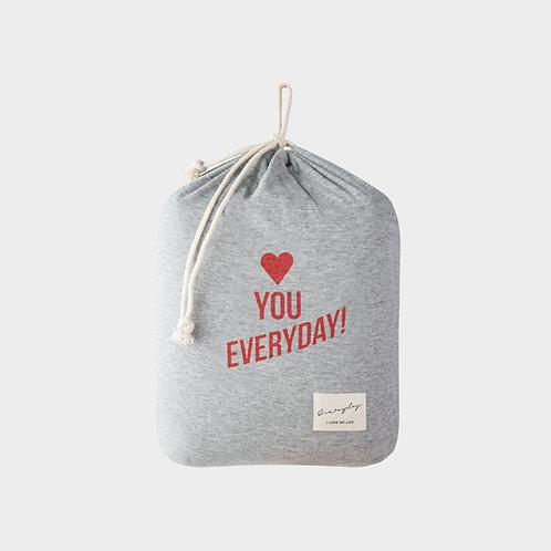Single Jersey Cushion - Love you everyday