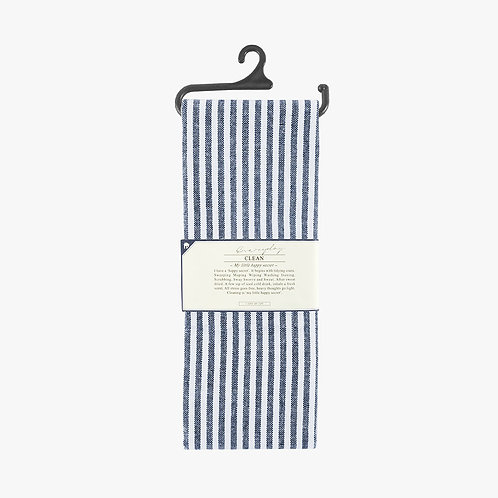 Tea Towel - Navy Stripe