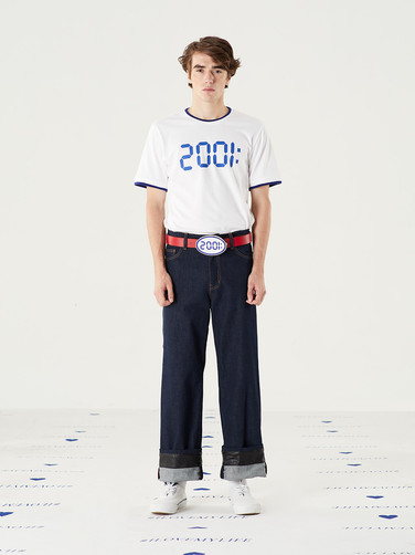 2001 Graphic Tee = THB 1,200 Too Important Jeans - Navy = THB 4,200