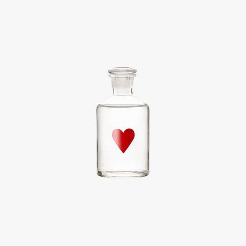 Decorative Glass Bottle - LOVE 125 ml.