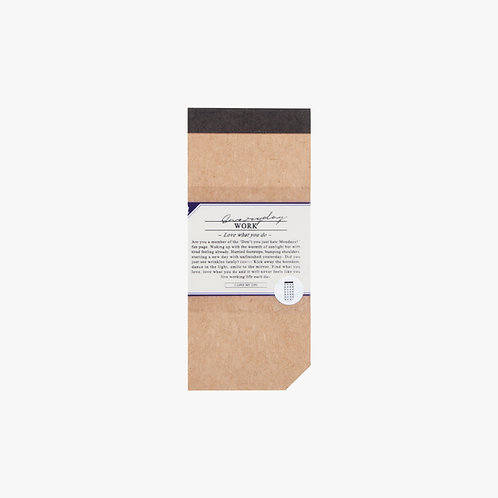 Checklist Pad #1/2 - Masking / Split