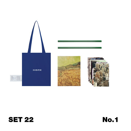 Set 22 / Everyday Working  Time #1 / Net Bag