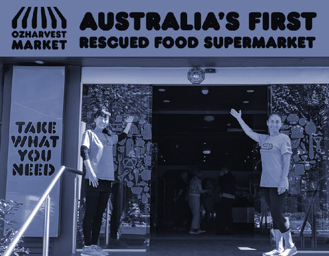 First rescued food supermarket, making food that would otherwise go to waste available to everyone,