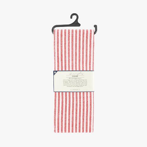 Tea Towel - Red Stripe