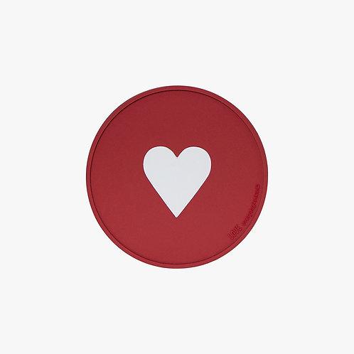 Dna Glass Coaster - Love Icon #1