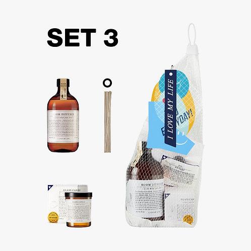 SET 3 Everyday Market Scent Your Home # 2  / Net Bag