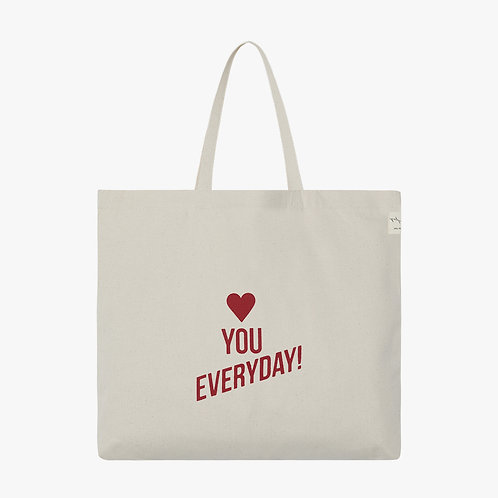 Dna Tote Bag - L- Love you everyday