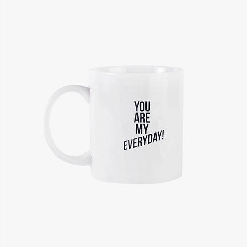 Dna Ceramic Mug - You are my everyday
