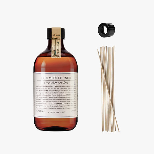 Room Diffuser Set - Sweet Gourmet - 500 ml.