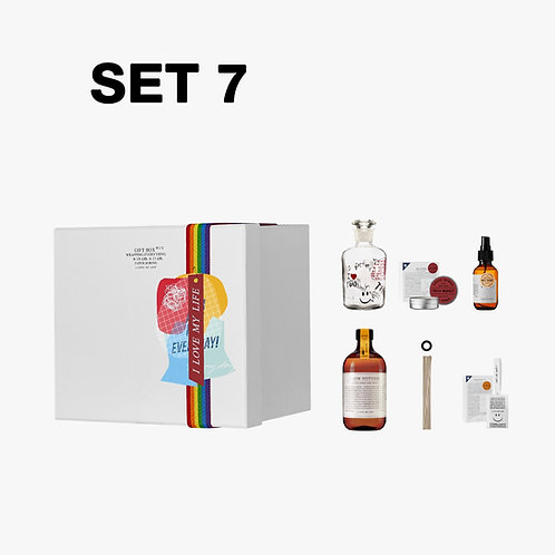 SET 7 Everyday Market Scent Your Home # 4 / Gift Box