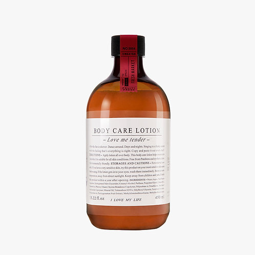 Body Care Lotion  - Fresh Market - 450 ml.