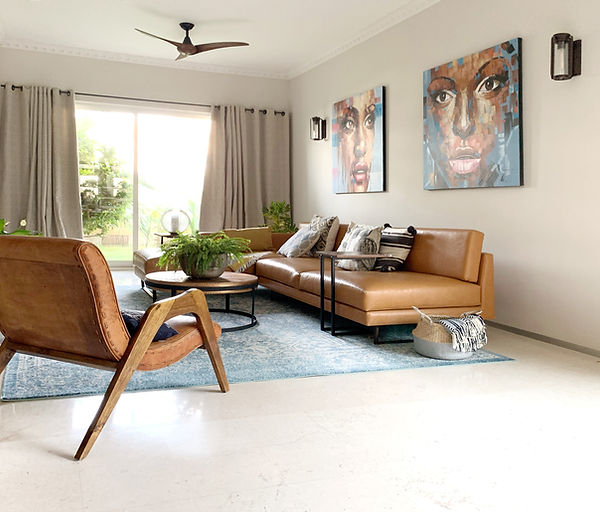 Dora Tokai Designs Indigo Living room 2.
