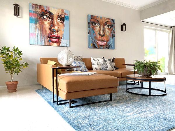 Dora Tokai Designs Indigo Living room 1.