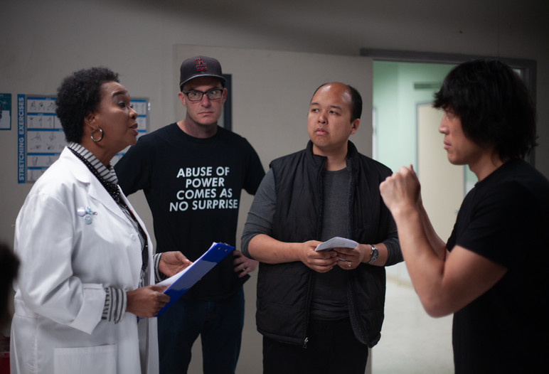 'Code' Pre-Production Photo