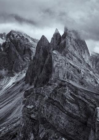 Seceda Klippen, Dolomiten