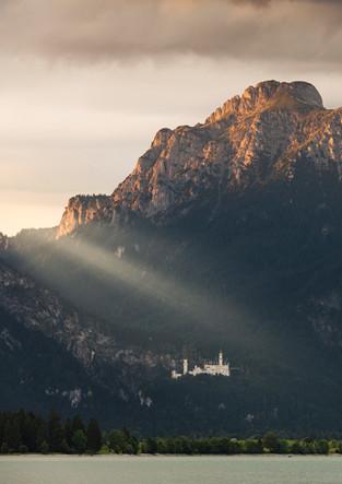 Forggensee mit Schloss Neuschwanstein