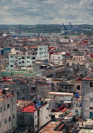 Havana city from above