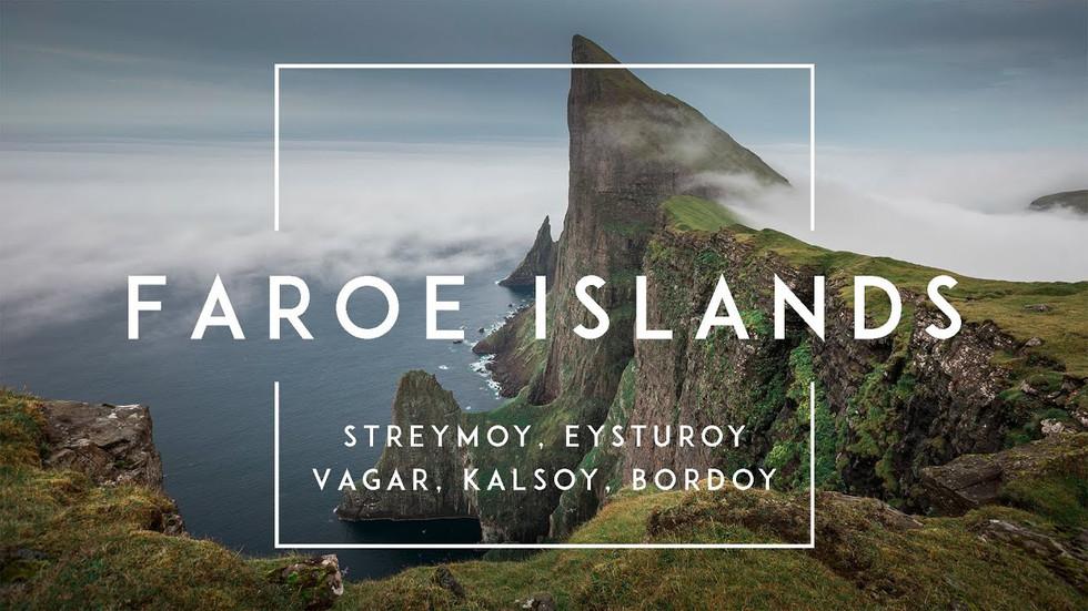 Zeitraffer-Videos der Färöer Inseln