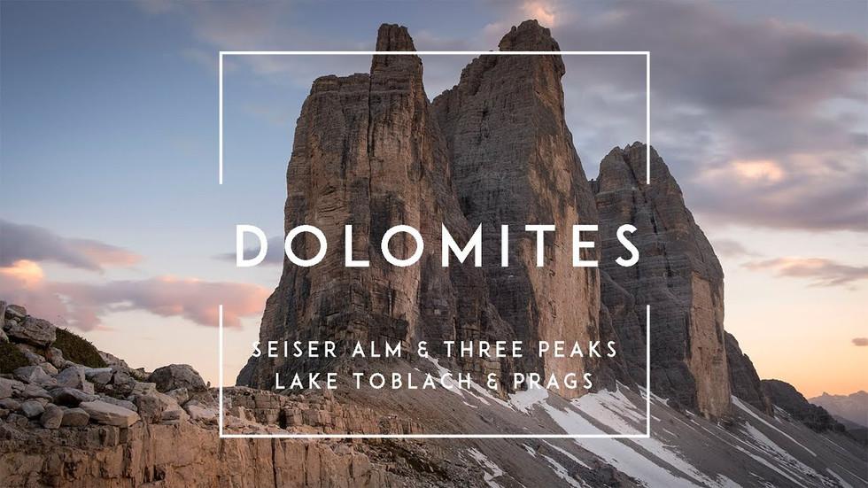 Zeitraffer-Videos der Dolomiten