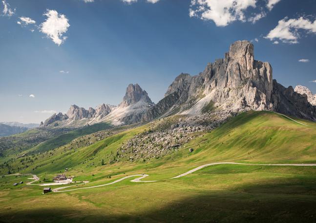 Passo Giau, Dolomiten