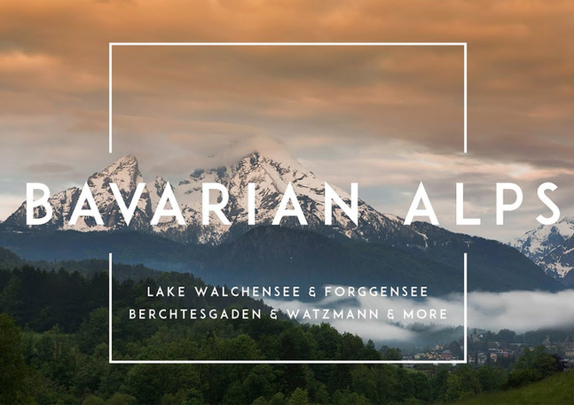 Zeitraffer Videos der Bayerischen Alpen
