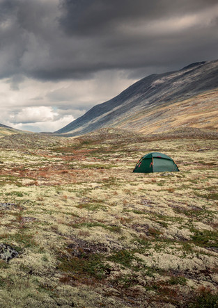 Zelten im Rondane Nationalpark