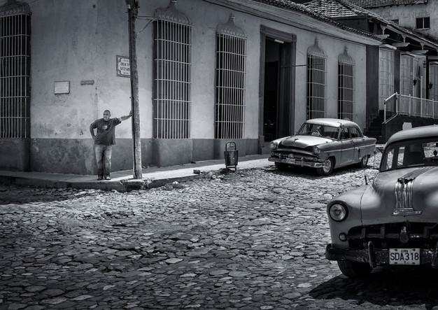 Trinidad's streets in Cuba