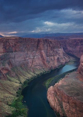Colorado River im Sonnenuntergang