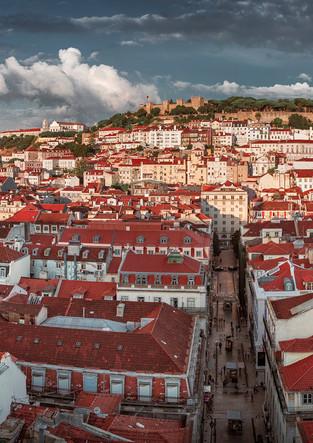 Lisbon Praca Dom Pedro Panorama