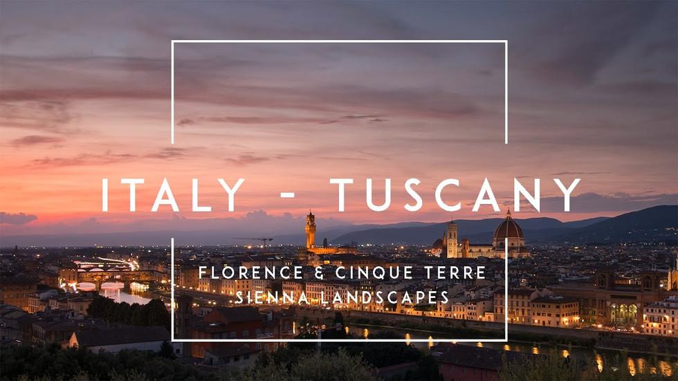 Zeitraffer-Videos der Toskana in Italien