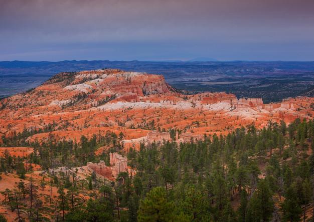 Bryce Canyon in der Dämmerung