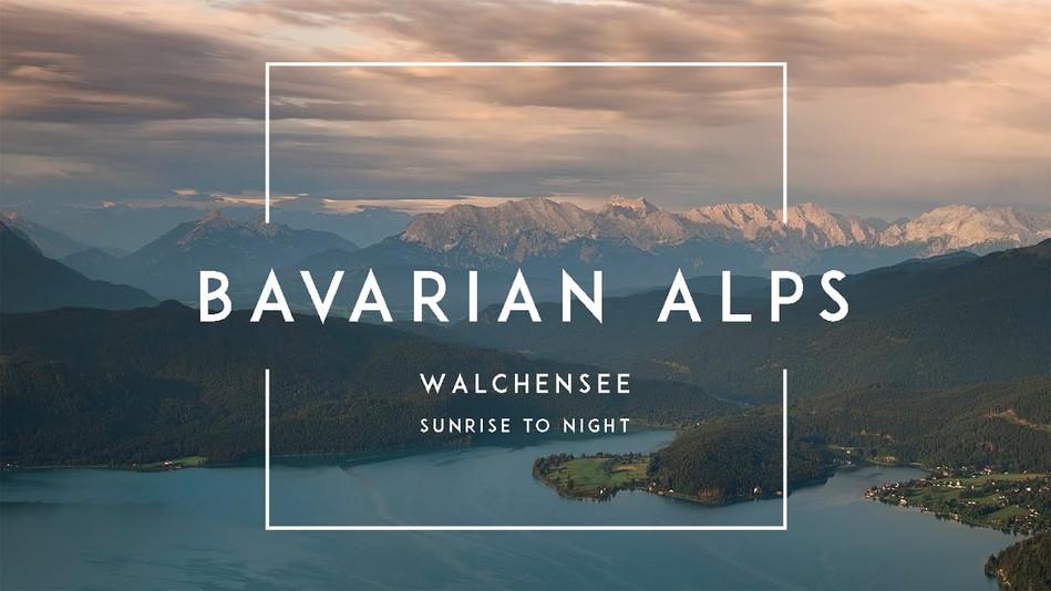 Zeitraffer-Videos der Alpen in Bayern