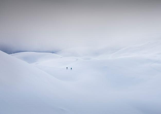 Einsame Skitour durch das Brendlkar zum Hinteren Tajakopf