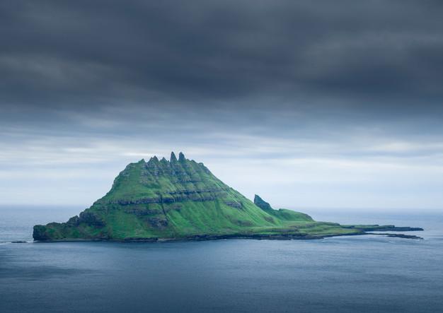 Insel Tindholmur, Färöer Inseln
