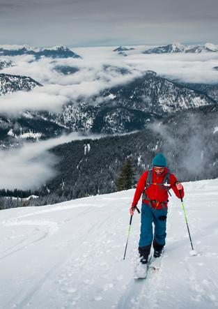Skitour zum Schafreiter im Karwendel