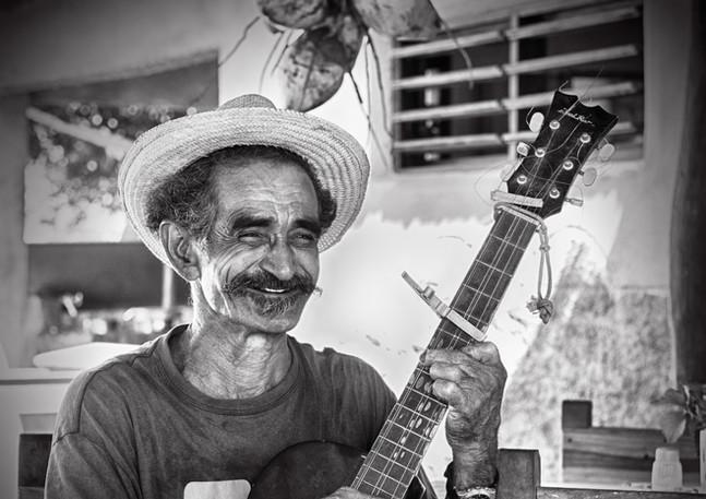 Kubanischer Gitarrenspieler