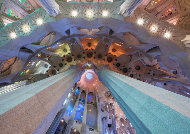 Apsis der Sagrada Familia