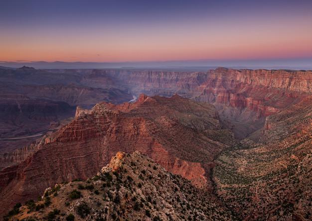 Grand Canyon bei Sonnenuntergang