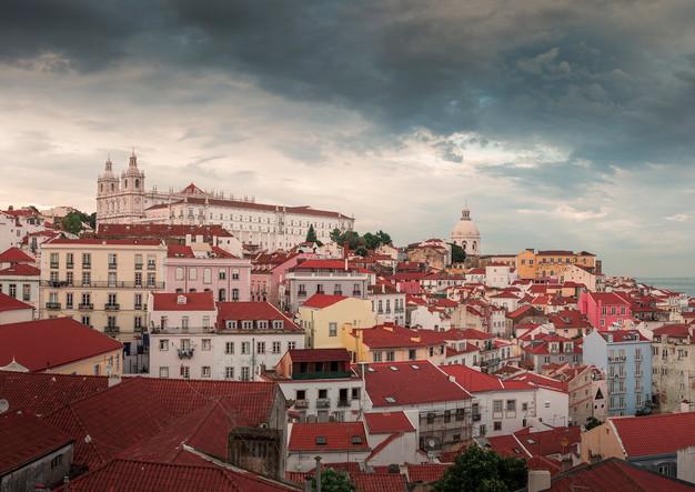 View of Alfama Lisbon