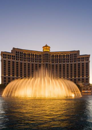 Wasserspiel am Bellagio in Las Vegas