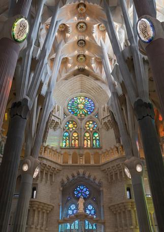 Sagrada Familia von innen