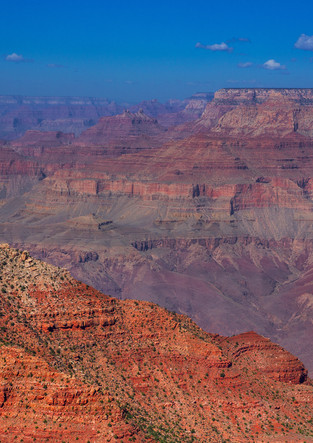 Rote Schluchten des Grand Canyon