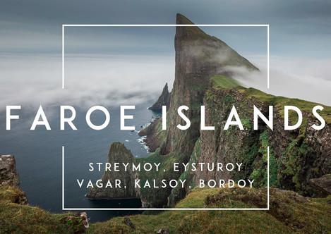 Zeitraffer Video der Färöer Inseln