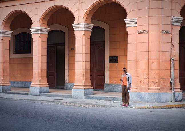 Kubaner auf der Straße von Havanna