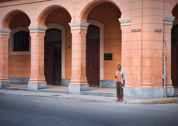 Cubans on the street of Havana